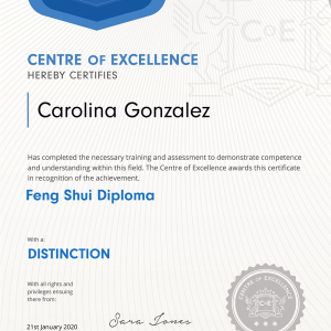 Feng Shui Practitioner Diploma